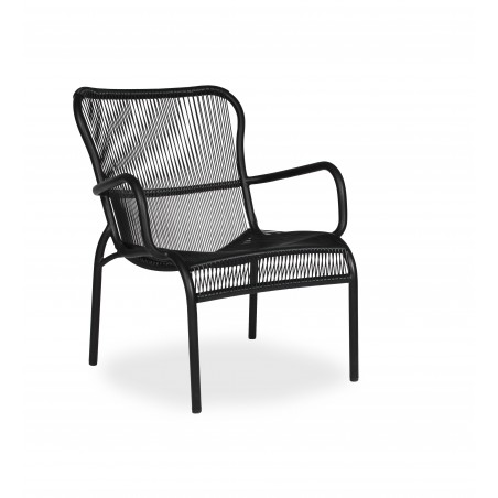 Vincent Sheppard Loop Outdoor Lounge Chair - Black