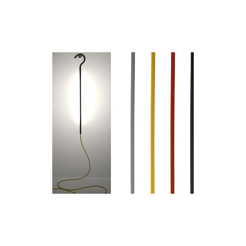 LED Cane Hanging Light - Red/Black
