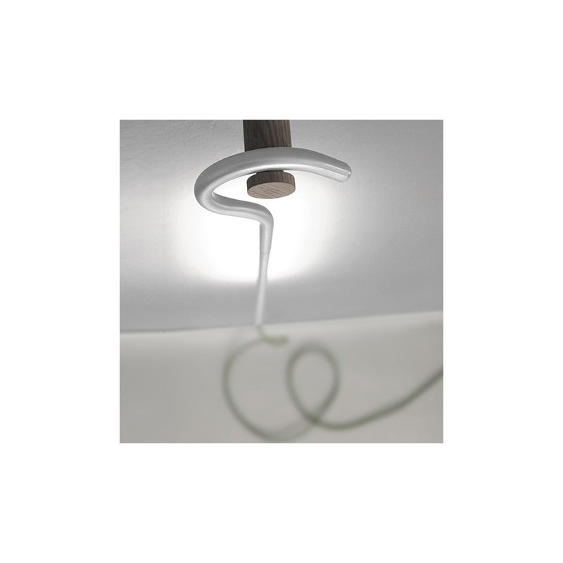 LED Cane Hanging Light - Yellow / Silver