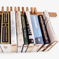 Agustav Oak Book Rack