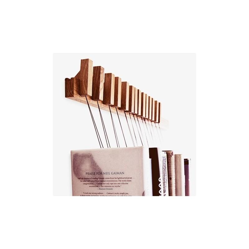 Agustav Oak Book Rack