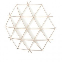 Medium Birch Honeycomb Shelf
