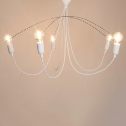 MVOS 95 Steel Chandelier - White