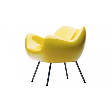 RM58 Armchair - Glossy Yellow