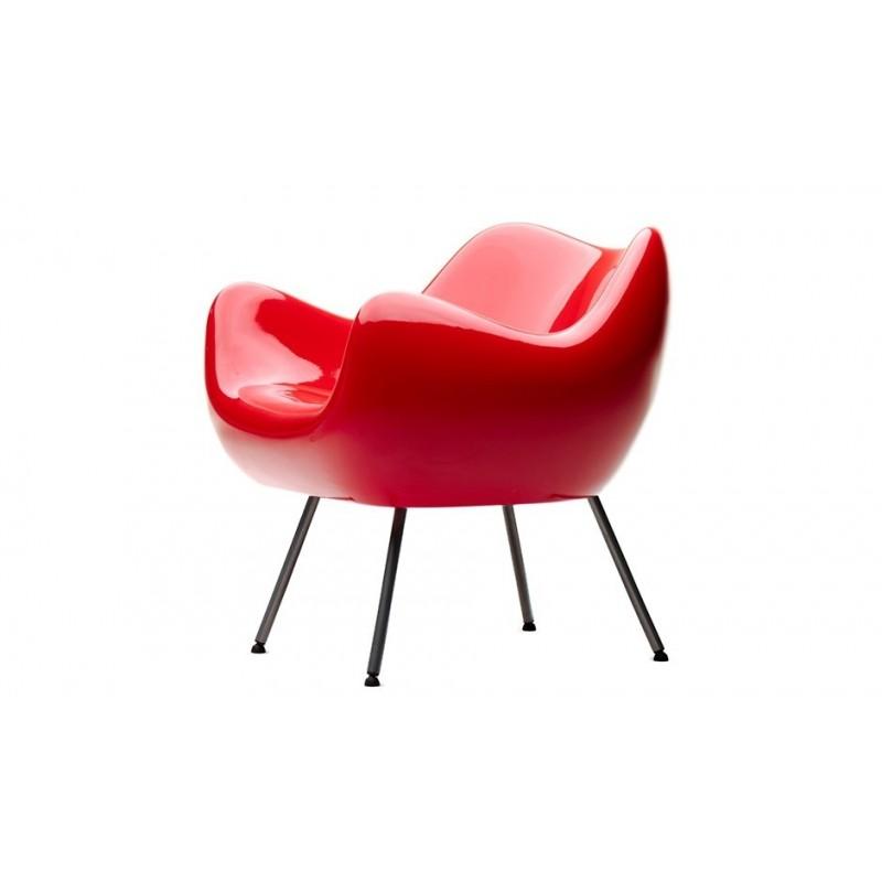 VZOR RM58 V & A Armchair - Glossy Red
