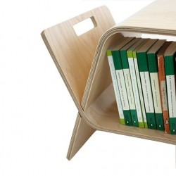 John Green Embrace Coffee Table / Bookstand - Birch