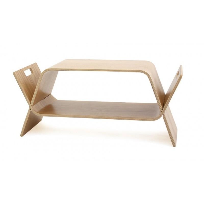 John Green Embrace Coffee Table | Bookstand - Oak