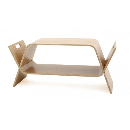 John Green Embrace Coffee Table / Bookstand - Oak