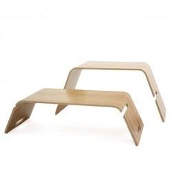 John Green Embrace Coffee Table / Bookstand - Oak
