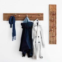 Danish Vertical Coat Rack