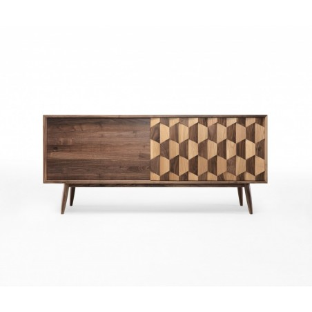 Wewood Scarpa W Walnut and Oak Sideboard