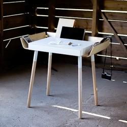 My Writing Desk Single Drawer Desk- White