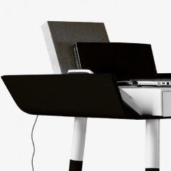 My Writing Desk Single Drawer Desk - Black