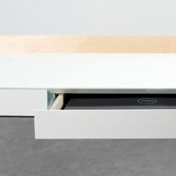 My Writing Desk 2 Drawers Desk - White