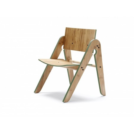 Lilly's Wood Chair - Green