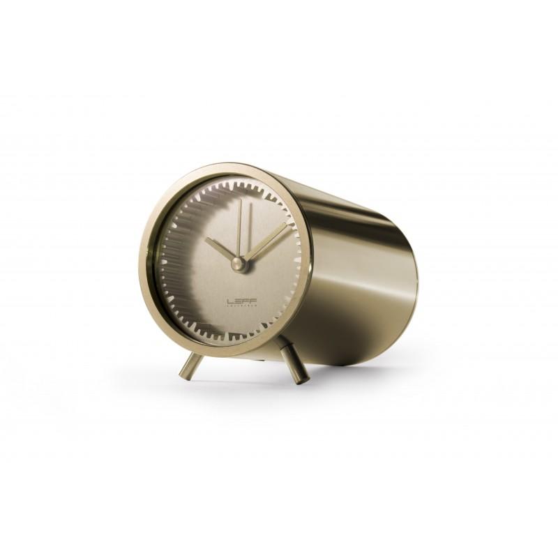 Leff Piet Hein Eek - Tube Clock - Brass