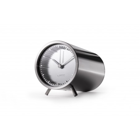 Leff Piet Hein Eek - Tube Clock - Stainless Steel