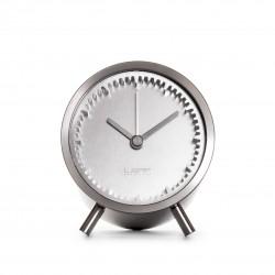 Leff Piet Hein Eek - Tube Clock - Stainless Steel