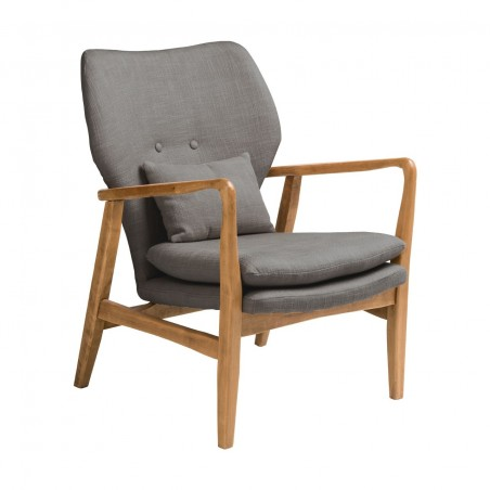 Astrid Birchwood Scandanavian Chair