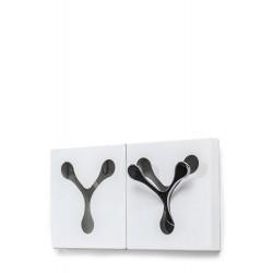 White Metal Key Cabinet / Hanger