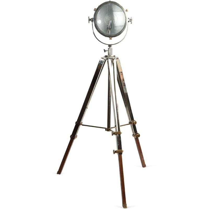 Rolls Headlamp Spotlight - Polished Nickel