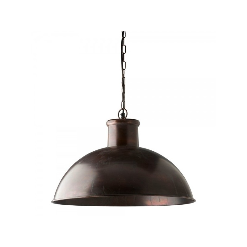 Spitalfield Pendant Light - Antique Copper Finish