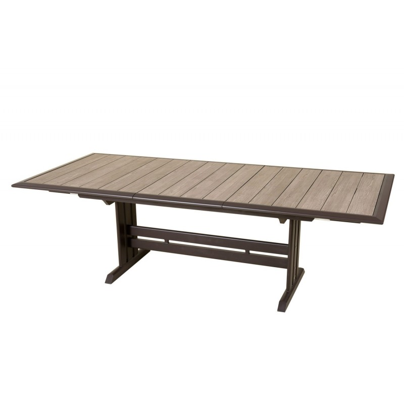 Les Jardins Aluminium Extending Outdoor Dining Table