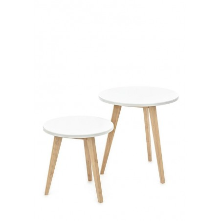 Duplo White Oak Table Set