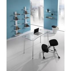 Nardo Curved Glass Shelf - Single