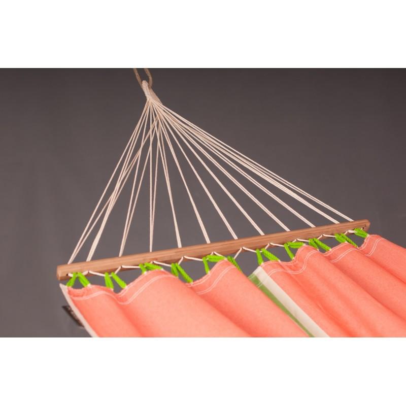 La Siesta Single Hammock with Spreader Bars - Fruta Mango