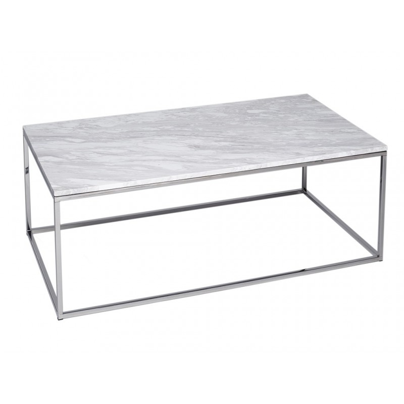 Kensal Rectangle Coffee Table with Marble Top