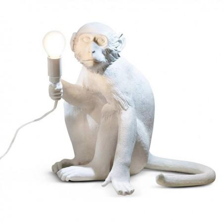 Monkey Sitting Table lamp - H 32 cm - Seletti