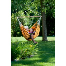 Hammock Chair Lounger CURRAMBERA apricot