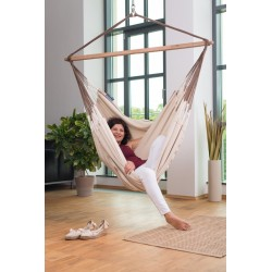 Hammock Chair Lounger HABANA nougat