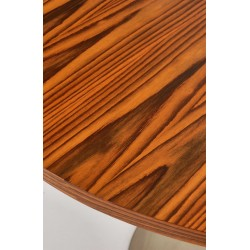 Round Dining Table in Sonokeling Rosewood