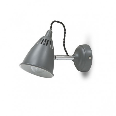 Cavendish Wall Light in Charcoal