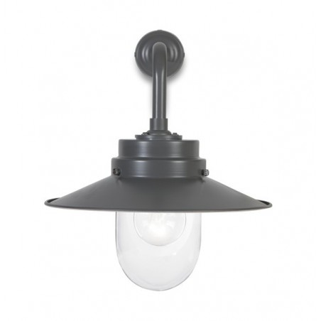 Garden Trading Belfast Wall Light in Charcoal