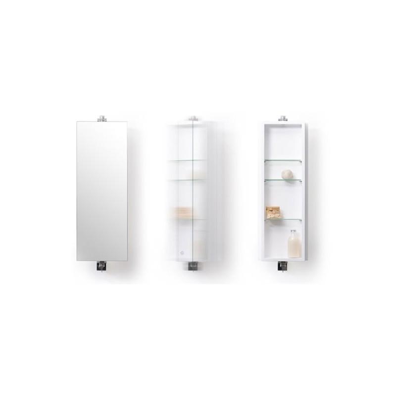 Wireworks Gloss White Revolve 710 Domain Cabinet