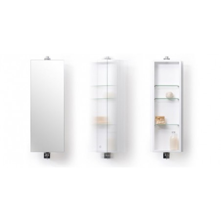 Wireworks Gloss White Revolve 710 Domain Cabinet