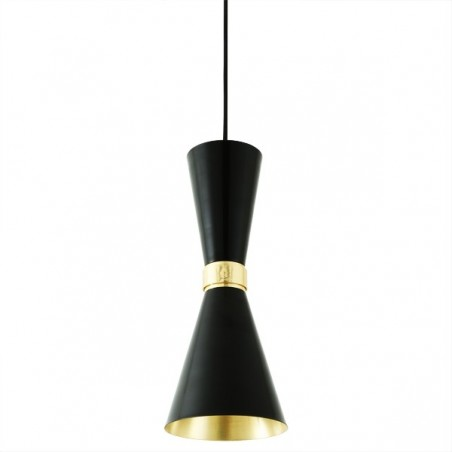 Cairo Contemporary Black Pendant Light