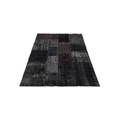 Massimo Handwoven Black Vintage Rug - 3 Sizes