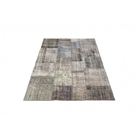 Handwoven Vintage Rug-170 x 240 - Antique Grey