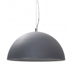 Dome Pendant Lights in Dark Grey
