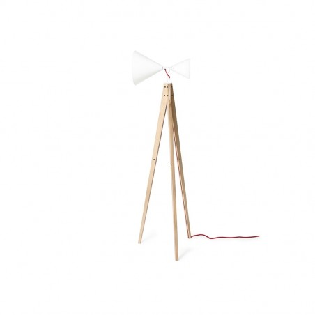 Ubikubi's Light Tale Floor Lamp in White