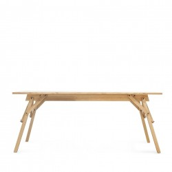 Ubikubi's Atelier Desk in Varnished Oak