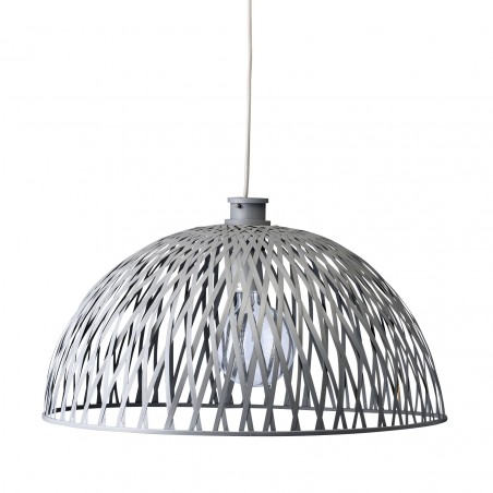 Bloomingville Rattan lamp shade in Dark grey