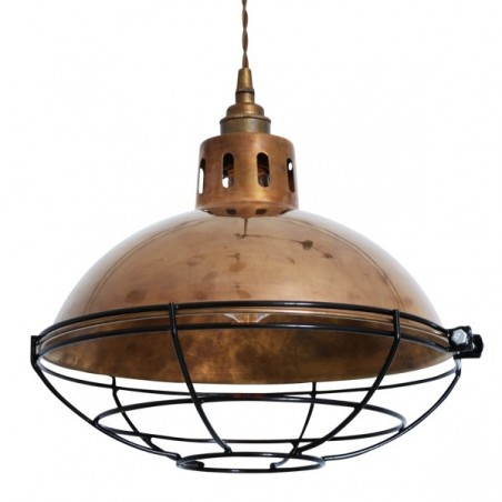 Mullan Lighting Chester Cage Lamp Industrial Factory Light
