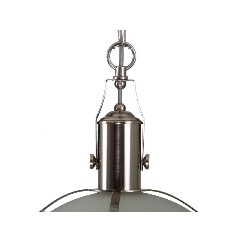 Meddle Industrial Pendant Satin Silver