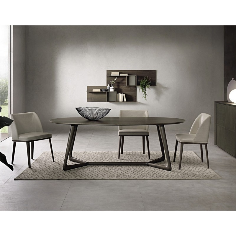 Pacini e Cappellini Cover Oval Dining Table - 200 CM x 100 CM