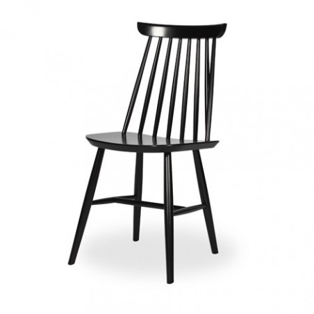 Vincent Sheppard Evelyn Dining Chair - Black, White and Red